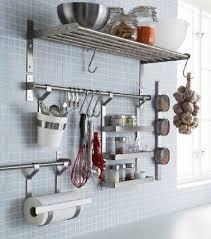 ustensiles cuisine inox astuces rangement cuisine à faire soi même accessoires de