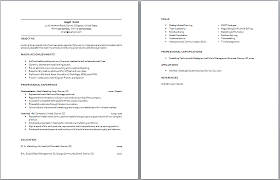 Sample Resume Sle Sales Trainer Pharmaceutical Monster