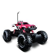 Amazon.com: Maisto R/C Rock Crawler Radio Control Vehicle (Colors ...