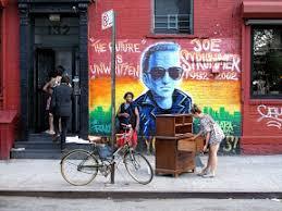 Joe Strummer Mural New York City by Eljeiffel The Future Is Unwritten Joe Strummer Alphabet City