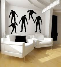 Zombies Zombie Vinyl Wall Decal Sticker Graphic By LKS Trading Post Who Wouldnt Want A Bit Of Decor But The White Couches Last Day With