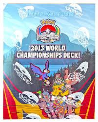 pokemon 2013 world chionship deck box da card world