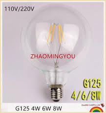 discount clear led globe bulb 2018 led bulb e27 clear globe on