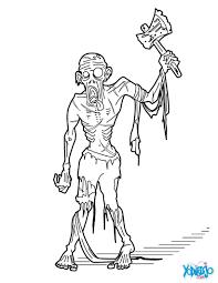 Dibujos De Zombies Para Colorear Dibujosparacolor On Dinujos Para