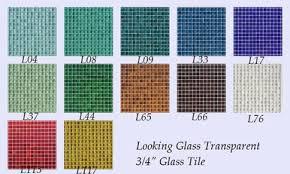 transparent glass mosaic tiles for creating beautiful mosaic