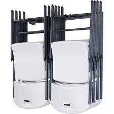 Folding Chair Carts Lifetime by Monkey Bar Small Folding Chair Rack Reviews At Chair Rack Rocket
