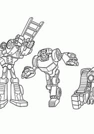 All Rescue Bots Coloring Pages For Kids Printable Free