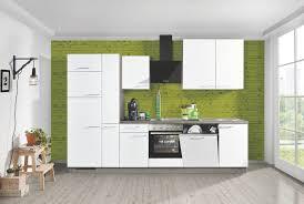 einbauküche win w01 plan p11 inkl e geräte 310 cm express küchen weiss eiche grau