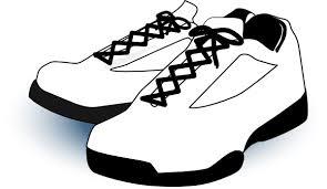 White Gym Shoes Clip Art at Clker vector clip art online