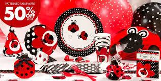 40th Birthday Decorations Canada by Fancy Ladybug Party Supplies Ladybug Birthday Decorations