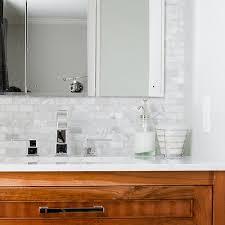 gray brick tile backsplash design ideas