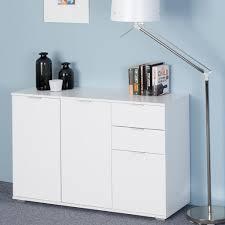 deuba sideboard kommode mehrzweckschrank schlafzimmer schrank büromöbel modell farbe db131 weiß