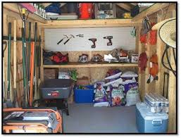 6x8 Storage Shed Home Depot by How To Clean And Organize A Shed The Home Depot Community