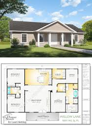 100 The Willow House Plan Building S And Blueprints 42130 Lane