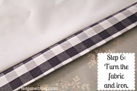 Fabric For Curtains Diy by Ten June Diy Blackout Curtain Tutorial How To Make Awesome