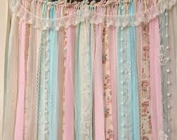 Simply Shabby Chic Curtains Pink Faux Silk by Shabby Chic Curtains Etsy