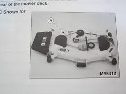 John Deere 48c Mower Deck Manual by Deere 54 Inch Mower Deck Manual 28 Images Deere La175 54 Mower