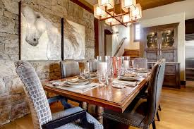 Elegant Vanguard Furniture Method Other Metro Rustic Dining Room Decorating Ideas With Chandelier Buffet