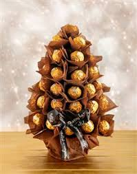 Ferrero Rocher Christmas Tree 150g by Order Christmas Chocolate Gifts Online Personalise Your Gift