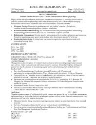 Sample Resume Rn Bsn Nursing Samplesgraduate School Template Health