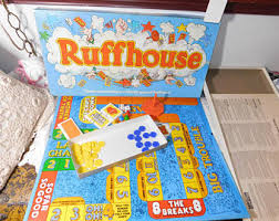 RUFFHOUSE Board Game Parker Brothers 1980 Vintage Games Family