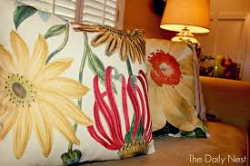 Pottery Barn Throw Pillow Inserts by Small Spruce Ups With Spray Paint