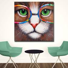 100 Pop Art Home Decor Wall Pictures For Living Room Cat