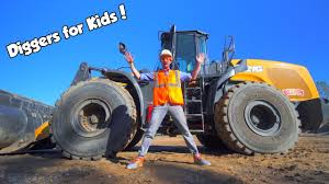 100 Digger Truck Videos Blippi Excavator Kids YouTube