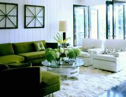 interior design fresh green living room interior and decorating