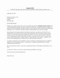 Cover Letter For Business Analyst Elegant Beautiful s HD