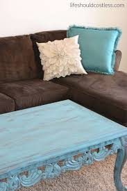 Americana Decor Creme Wax 8 Oz Clear by Coffee Table Make Over In Turquoise Americana Décor Treasure