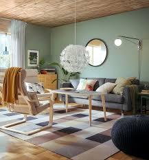 stockholm teppich flach gewebt handarbeit kariert braun
