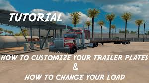 American Truck Simulator Tutorial | How To Change Your Load ... Build Your Custom Diy Bumper Kit For Trucks Move Bumpers Customize Truck In Kenner La Serving Metairie Louisiana Post Anything From Anywhere Customize Everything And Find Storm Project Episode 19 Interior Youtube Virtually Truckdomeus Rims Tires Your Truck Thanks To The Crew At Northern With Jakt Murray Chev A Camo Bedliner Dualliner The Ridgelander Gives You Ability Have Full Access