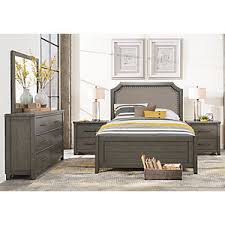 Rooms To Go Queen Bedroom Sets by Urban Plains Gray 5 Pc Queen Reversible Bedroom Queen Bedroom