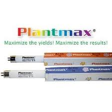 plantmax 4 ft t5 fluorescent l bulb grow bloom t5ho 6500k