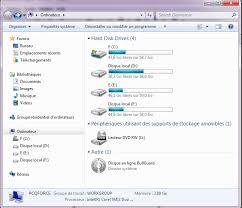 bureau disparu windows 7 barre des menus dans l explorateur de windows 7