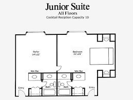 Mgm Grand Floor Plan by Las Vegas Hotel Junior Suite