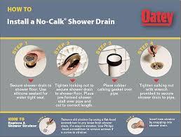 Bathtub Drain Leaks Diagram by Oatey