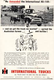 100 1957 International Truck Harvester AS 148 S Aussie Original Magazine