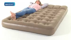 Aerobed Queen With Headboard by Aerobed Active Double Camping Airbed Youtube