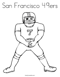 Full Size Of Coloring Page49ers Page 49ers San Francisco Png Ctok