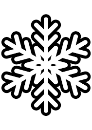 Free Snowflake Coloring Pages For Kids