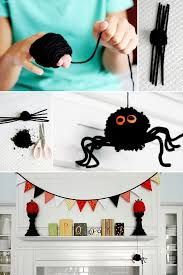 Fa§a Aranhas para a Festa de Halloween Halloween Pinterest
