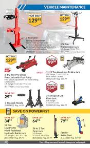 Hydraulic Floor Jack Troubleshooting by Princess Auto Flyer October 3 To 15