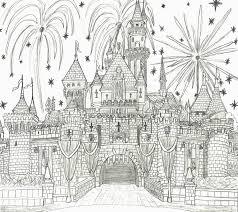 Drawing Of Disney Castle