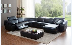 Chateau Dax Leather Sofa Macys by Alessandro 6 Piece Leather Sectional With Chaise U0026 2 Power Motion