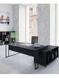 bureau loft industriel bureau de direction avec console de rangement intégrée stricto