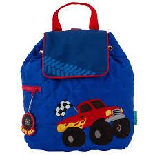 100 Monster Truck Backpack Stephen Joseph Truck Truck Toy Bag Etsy