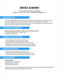Resume Sample For Fresh Graduate Business Administration With Regard To