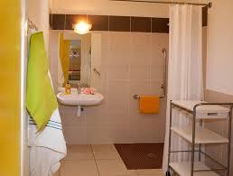 accessibilité salle de bains et wc